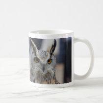 Siberian Eagle Owl Close Up Coffee Mug