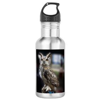 Siberian Eagle Owl 18oz Water Bottle