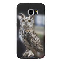 Siberian Eagle Owl Samsung Galaxy S6 Case