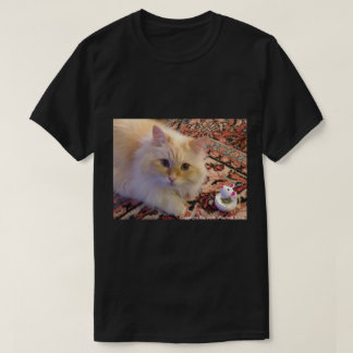 Siberian Forest Cat & Toy T-Shirt