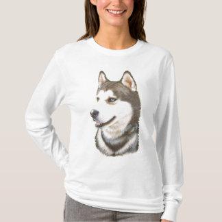 Siberian Huskey Dog Sweat Shirt
