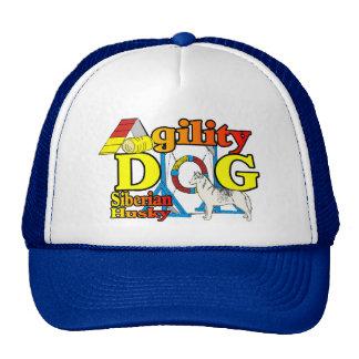 Siberian Husky Agility Trucker Hat
