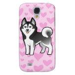 Siberian Husky / Alaskan Malamute Love Galaxy S4 Case