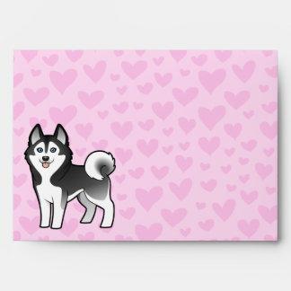 Siberian Husky / Alaskan Malamute Love Envelope