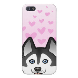 Siberian Husky / Alaskan Malamute Love Case For iPhone SE/5/5s
