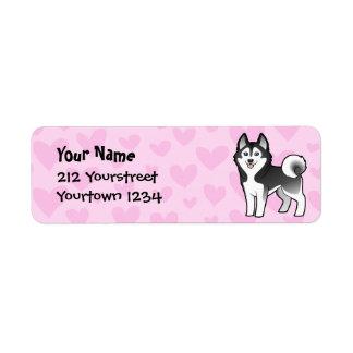 Siberian Husky / Alaskan Malamute Love Label