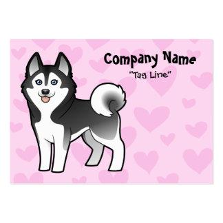 Siberian Husky / Alaskan Malamute Love Large Business Card