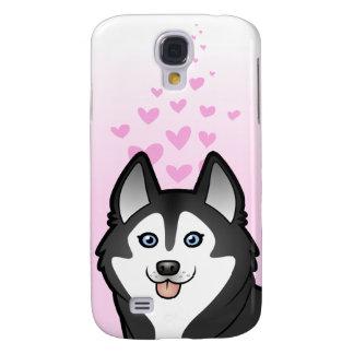 Siberian Husky / Alaskan Malamute Love Samsung Galaxy S4 Case