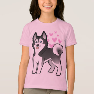 Siberian Husky / Alaskan Malamute Love T-Shirt