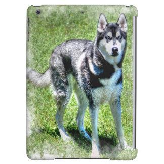 Siberian Husky Animal-lover Dog-themed Gift Cover For iPad Air