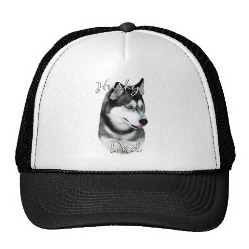 Siberian Husky (blk) Dad 2 Hats