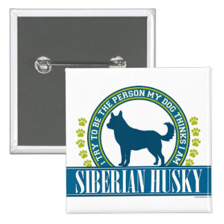 Siberian Husky Pins