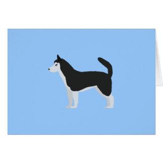 Siberian Husky Card