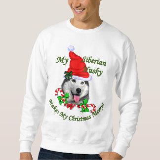 Siberian Husky Christmas Gifts Sweatshirt