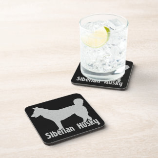 Siberian Husky Coaster