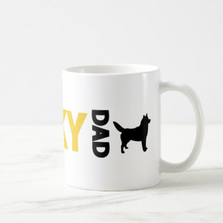 Siberian Husky Dad Coffee Mug