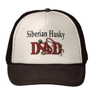 Siberian Husky Dad Gifts Trucker Hat