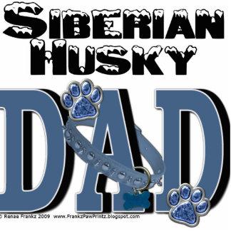 Siberian Husky DAD Acrylic Cut Out