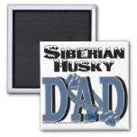 Siberian Husky DAD Refrigerator Magnet