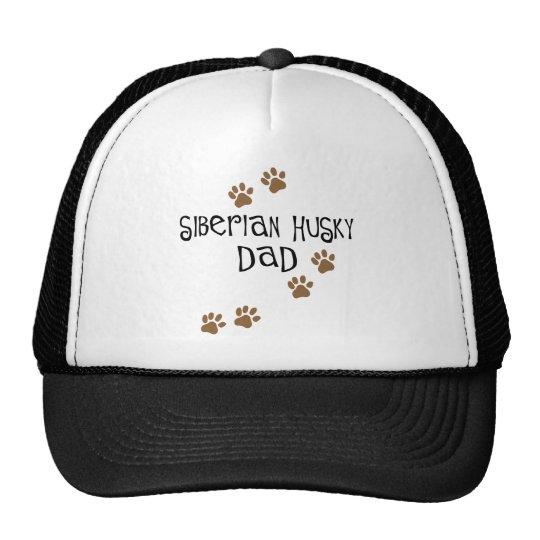 Siberian Husky Dad Trucker Hat