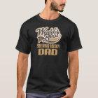 Siberian Husky Dad (Worlds Best) T-Shirt