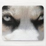 Siberian Husky Demon 4 Mouse Pad