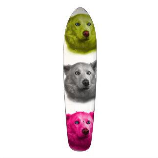 Siberian Husky dog art 2103 WB Skateboard Deck