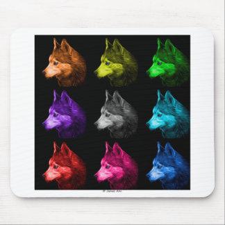 Siberian Husky dog art 6048 BB Mouse Pad
