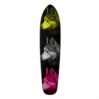 Siberian Husky dog art 6048 BB Skateboard