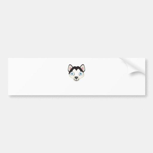 Siberian Husky Dog Breed - My Dog Oasis Bumper Sticker