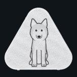 "Siberian Husky Dog Cartoon Bluetooth Speaker<br><div class=""desc"">Siberian Husky. Design by DogBreedCartoon</div>"