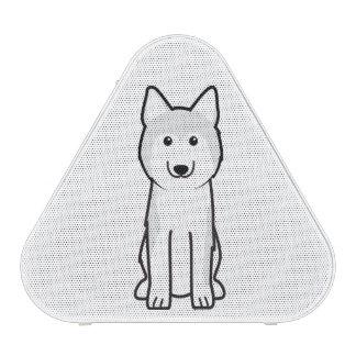 Siberian Husky Dog Cartoon Bluetooth Speaker