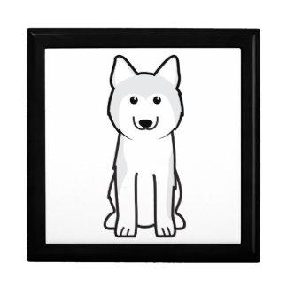 Siberian Husky Dog Cartoon Jewelry Box