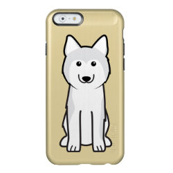Incipio Feather® Shine iPhone 6 Case with Siberian Husky Phone Cases design