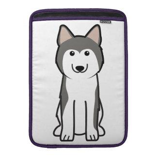 Siberian Husky Dog Cartoon MacBook Air Sleeve