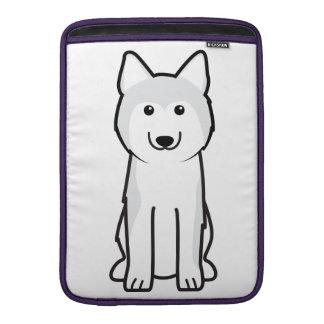 Siberian Husky Dog Cartoon Sleeve For MacBook Air