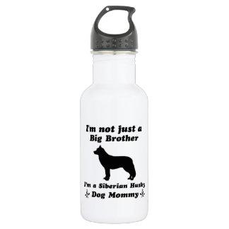 siberian husky Dog Designs Stainless Steel Water Bottle