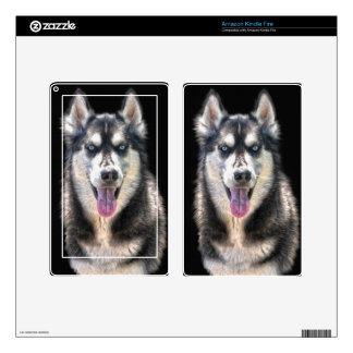 Siberian Husky Dog-lover's Pet Gift Range Skin For Kindle Fire