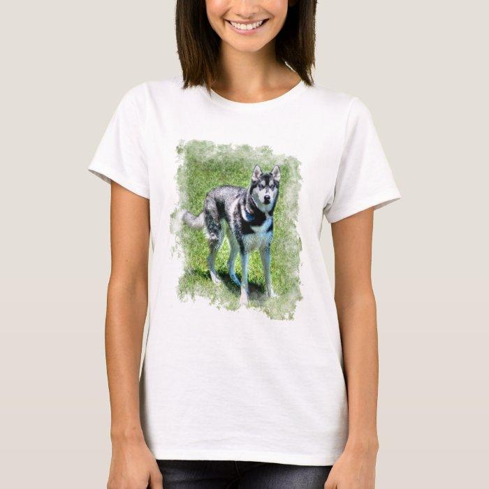 Siberian Husky Dog-lover's Pet Gift Series T-Shirt