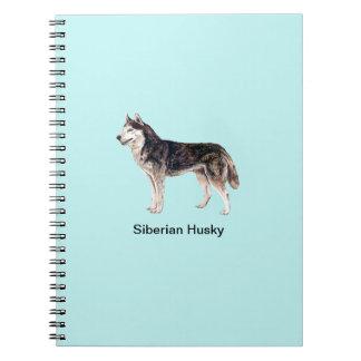 Siberian Husky Dog Notebook