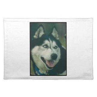 Siberian Husky Dog Placemat