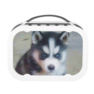 Siberian Husky dog Yubo Lunch Boxes