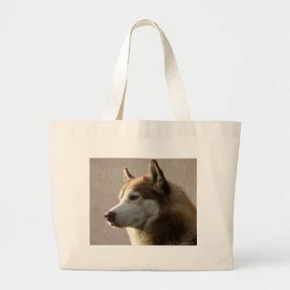 Siberian Husky Dogs Jumbo Tote Bag