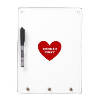 Siberian Husky Dry Erase Whiteboards