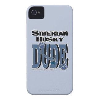 Siberian Husky DUDE Case-Mate iPhone 4 Case