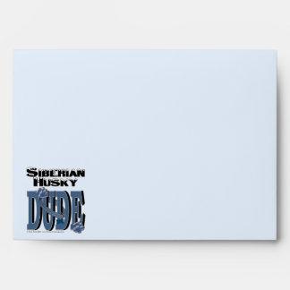 Siberian Husky Dude Envelope