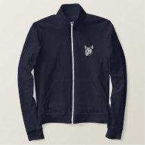 Siberian Husky Embroidered Jackets