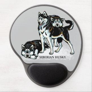siberian husky gel mouse pads