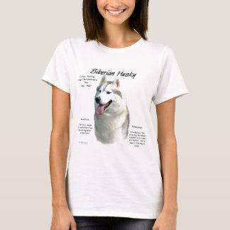 Siberian Husky History Design T-Shirt