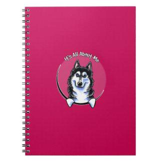 Siberian Husky IAAM Note Books